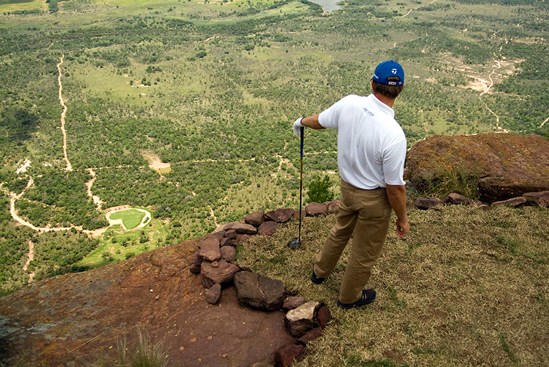 Extreme 19th hole in South Africa