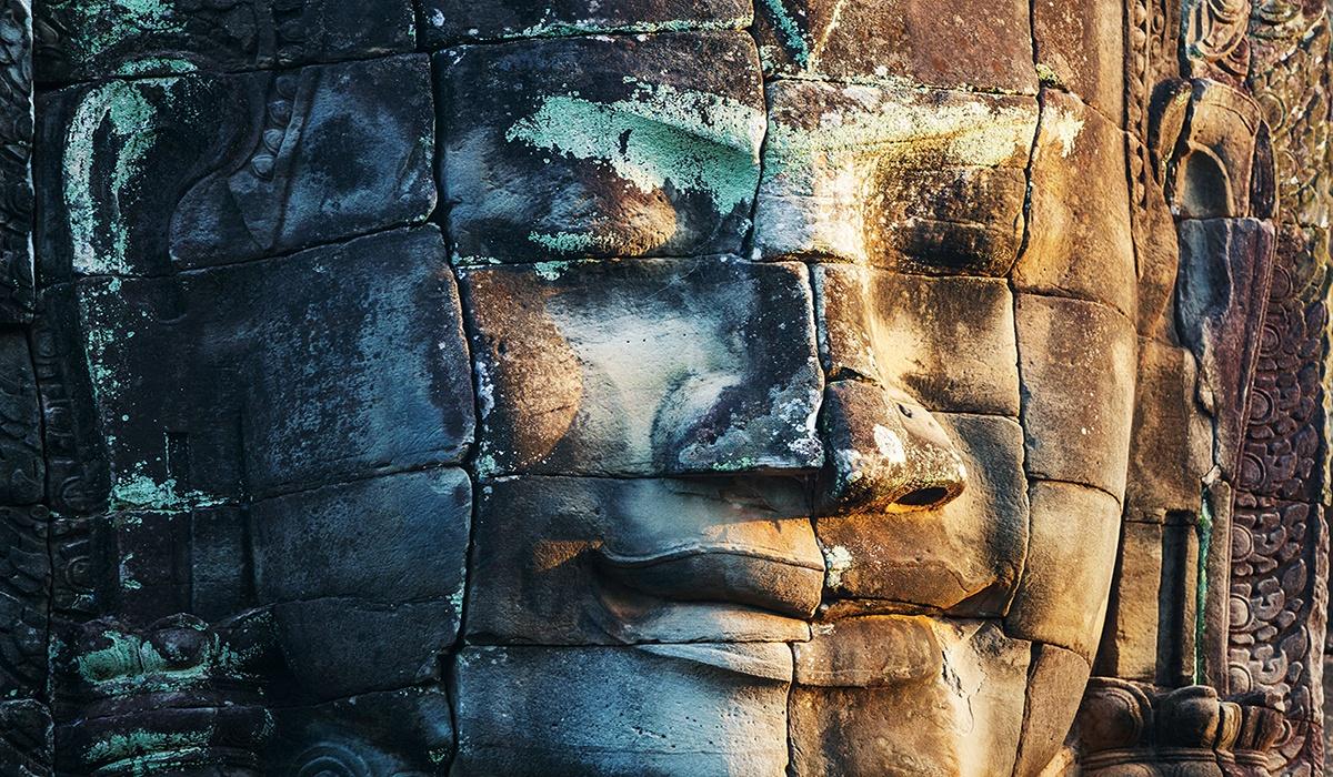 Bayon Khmer Temple Angkor Cambodia