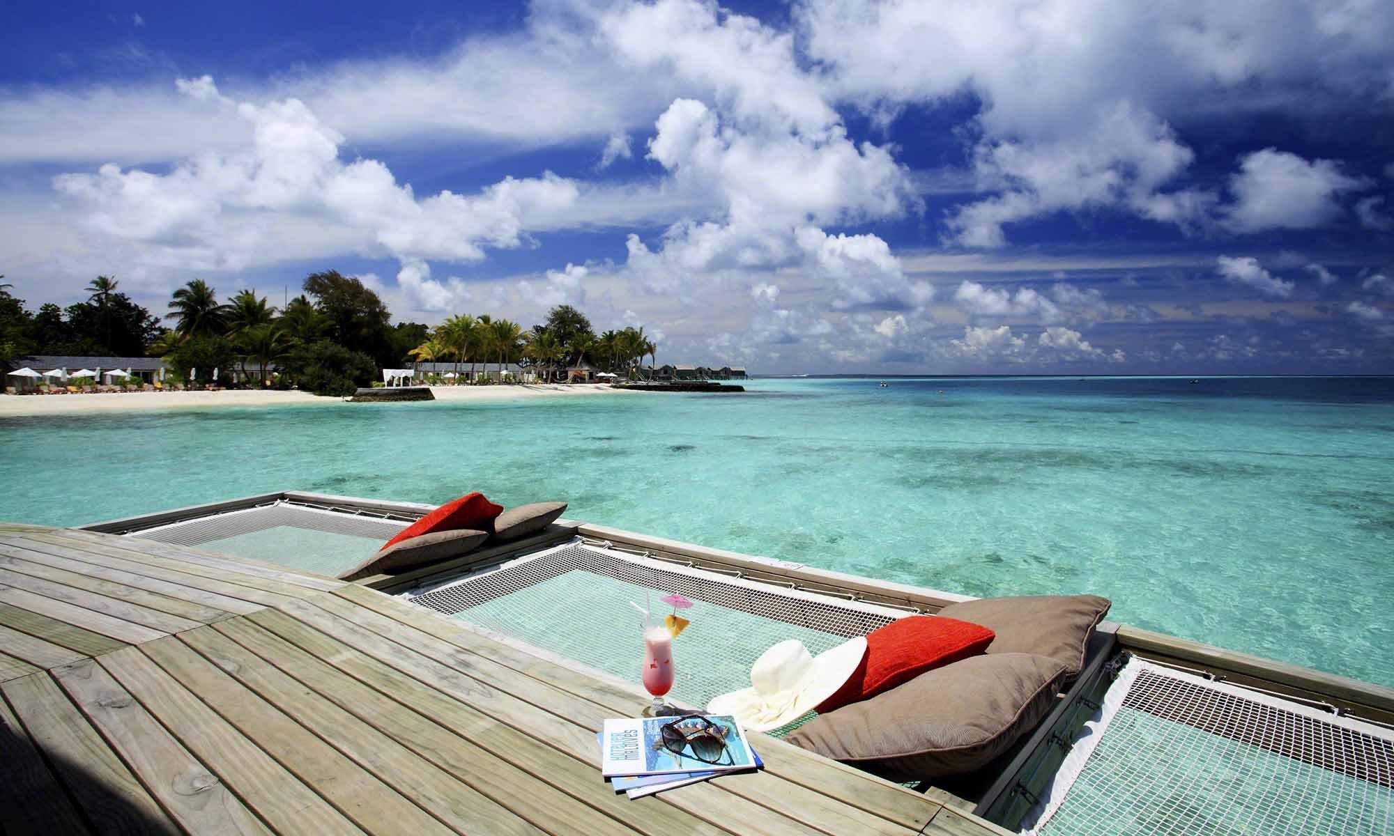 Deluxe water villa maldives