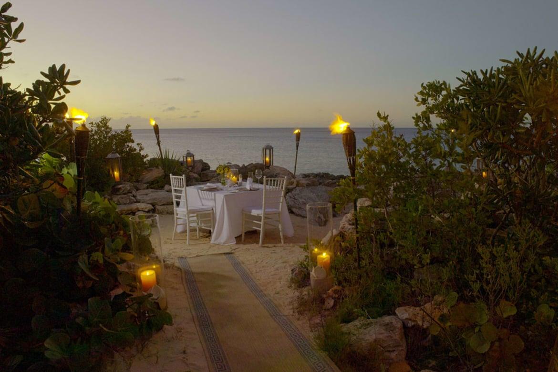 Ocean Cove Dining Amanyara Turks Caicos