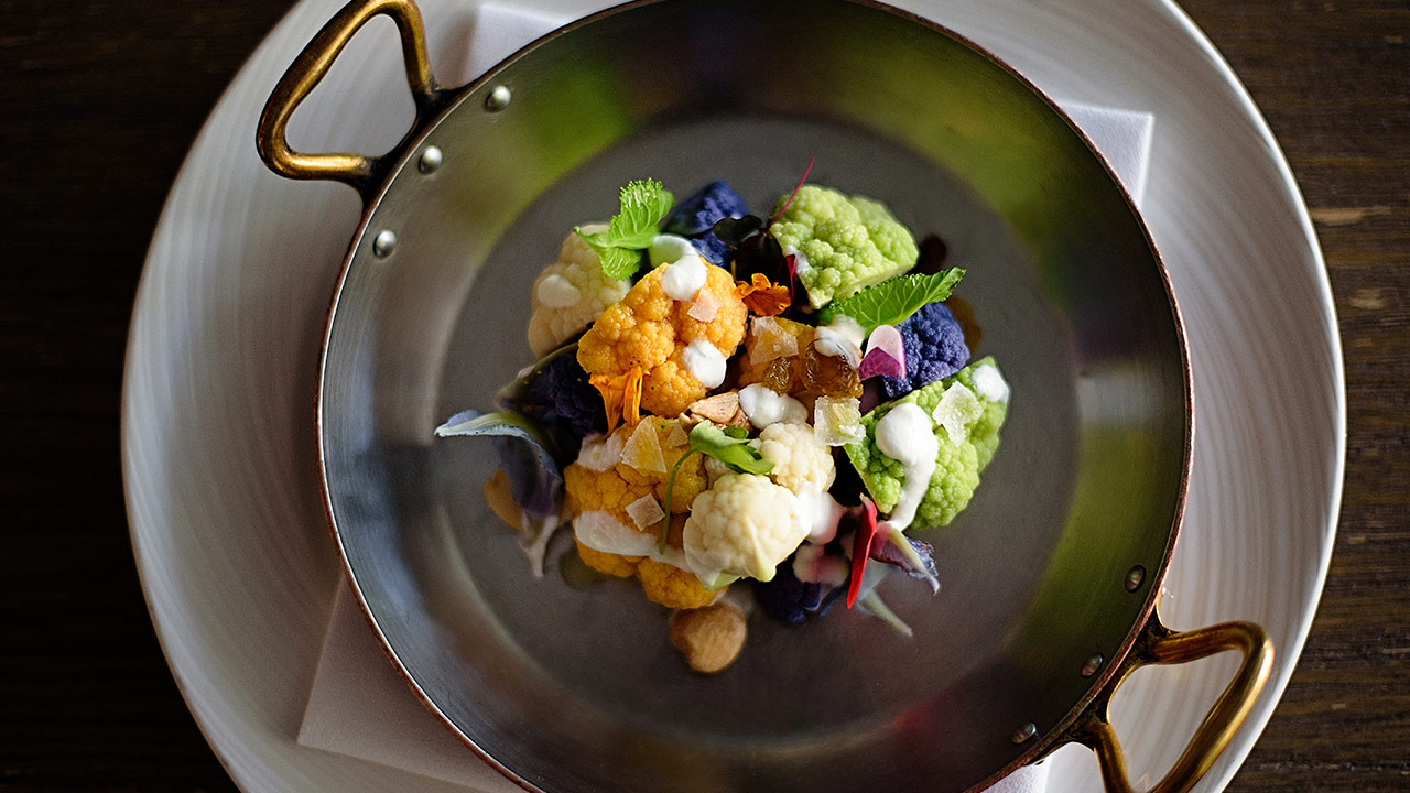 Baby Cauliflower Cast Restaurant at Viceroy Santa Monica