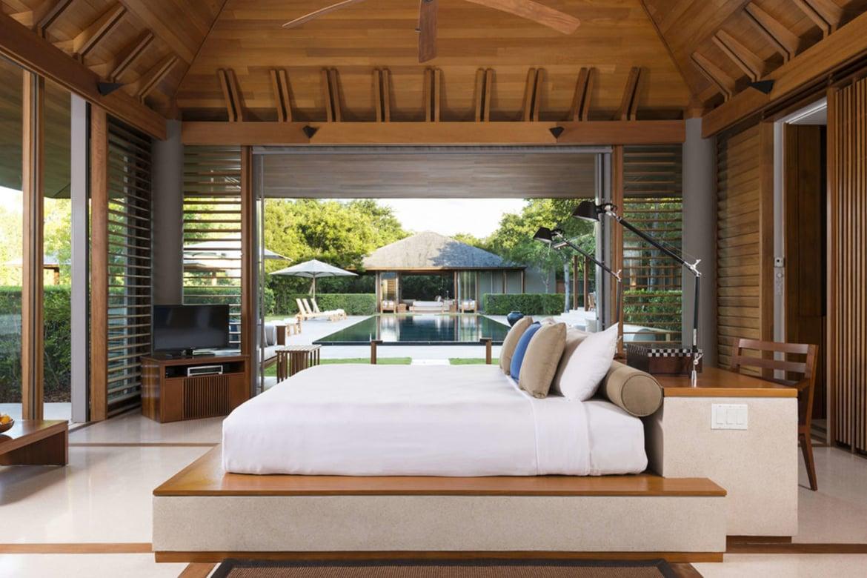 Villa Bedroom Amanyara Turks Caicos