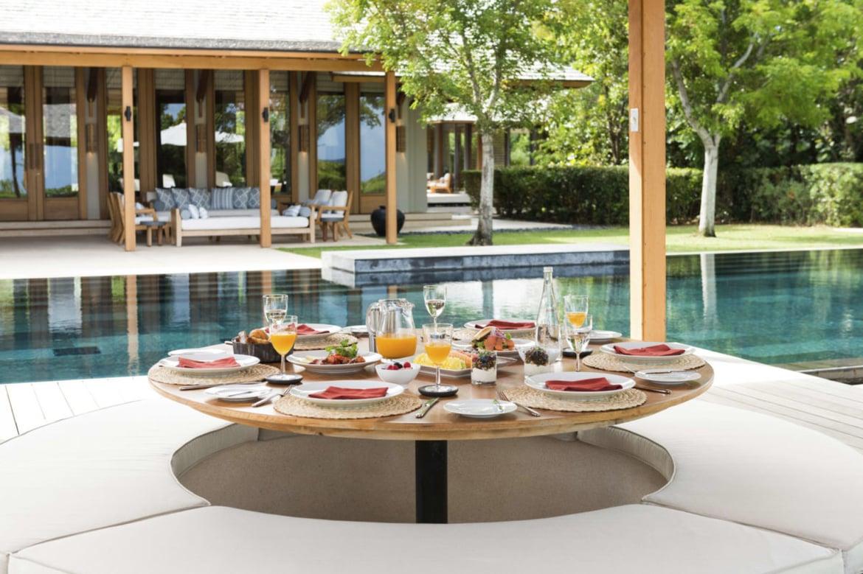 Villa Dining Amanyara Turks Caicos