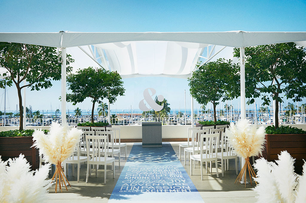 Waikiki Wedding at The Modern Honolulu