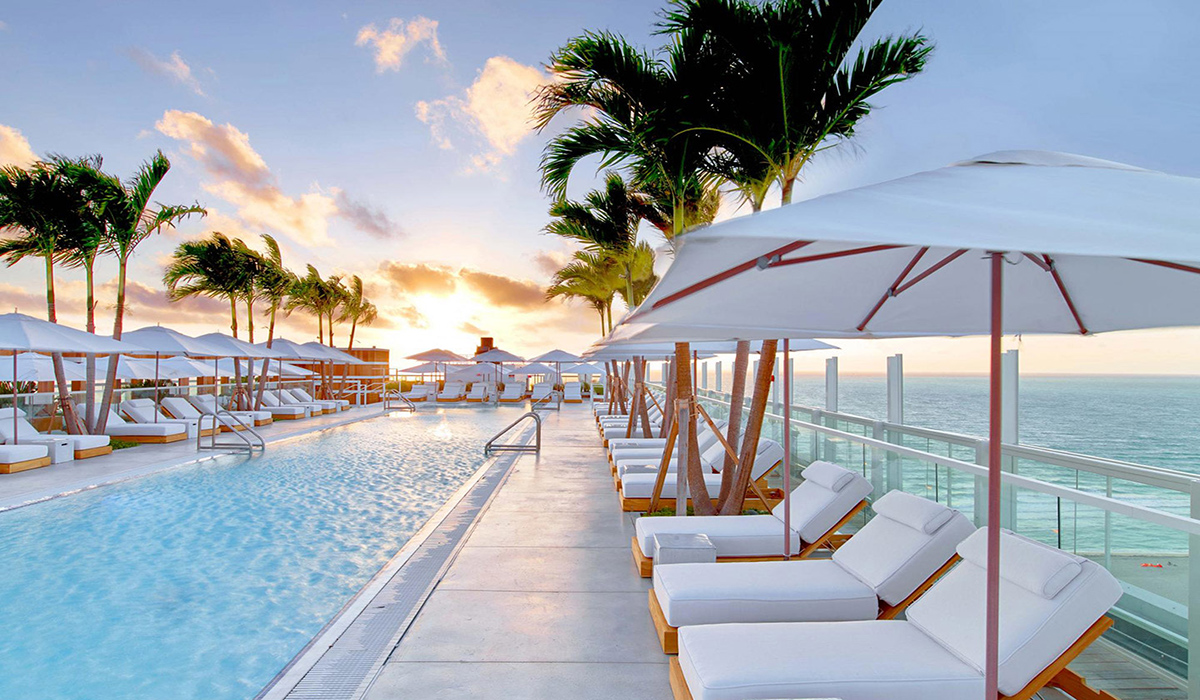 Rooftop Pool Miami South Beach