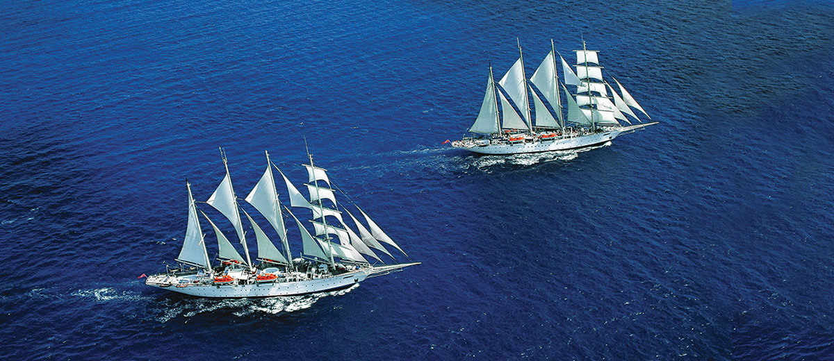 Two Star Clippers s