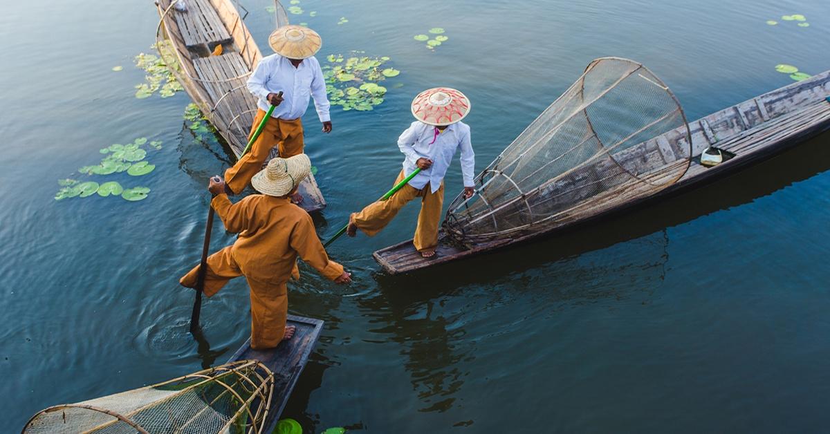 Silversea Asia Fishermen