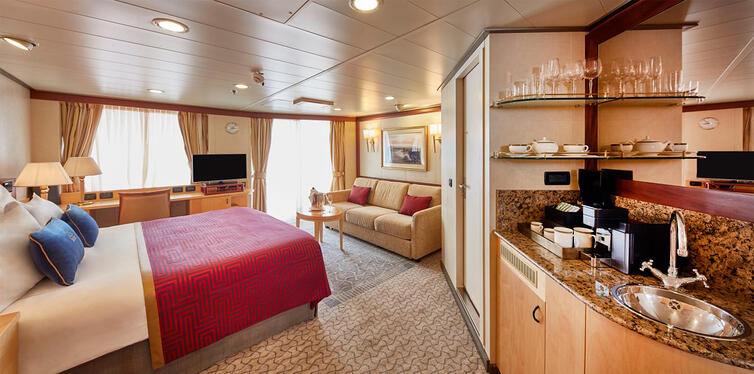 cunard image 1 bed