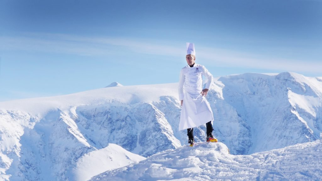 Skiing and Cooking with Chef Jean-Luc Lefrançois