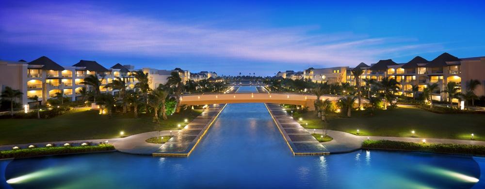 The Hard Rock Hotel Pool in Punta Cana