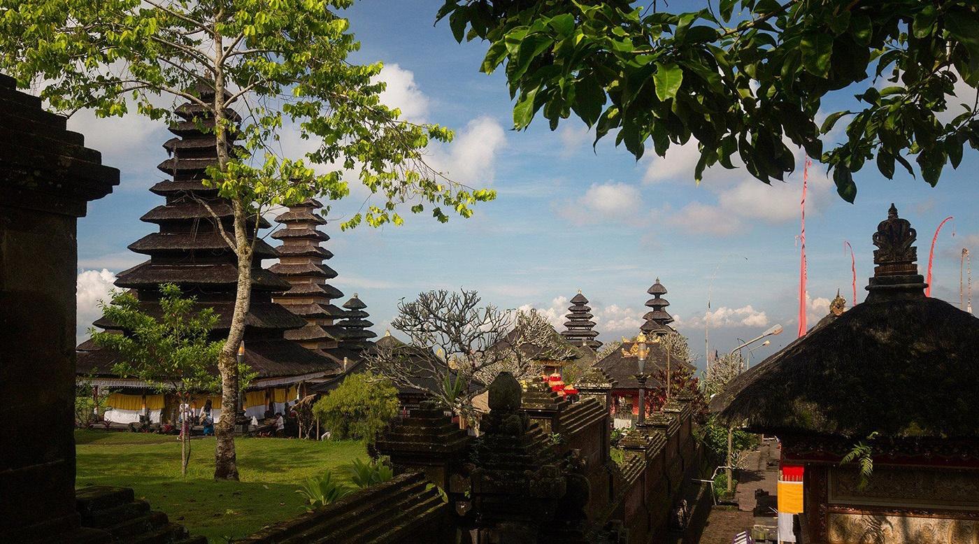 Temple in Benoa Bali Indonesia