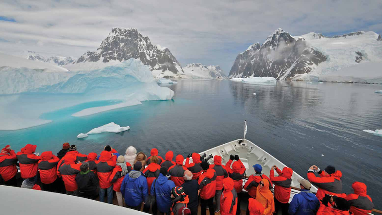 Silver Cloud's debut in Antarctica