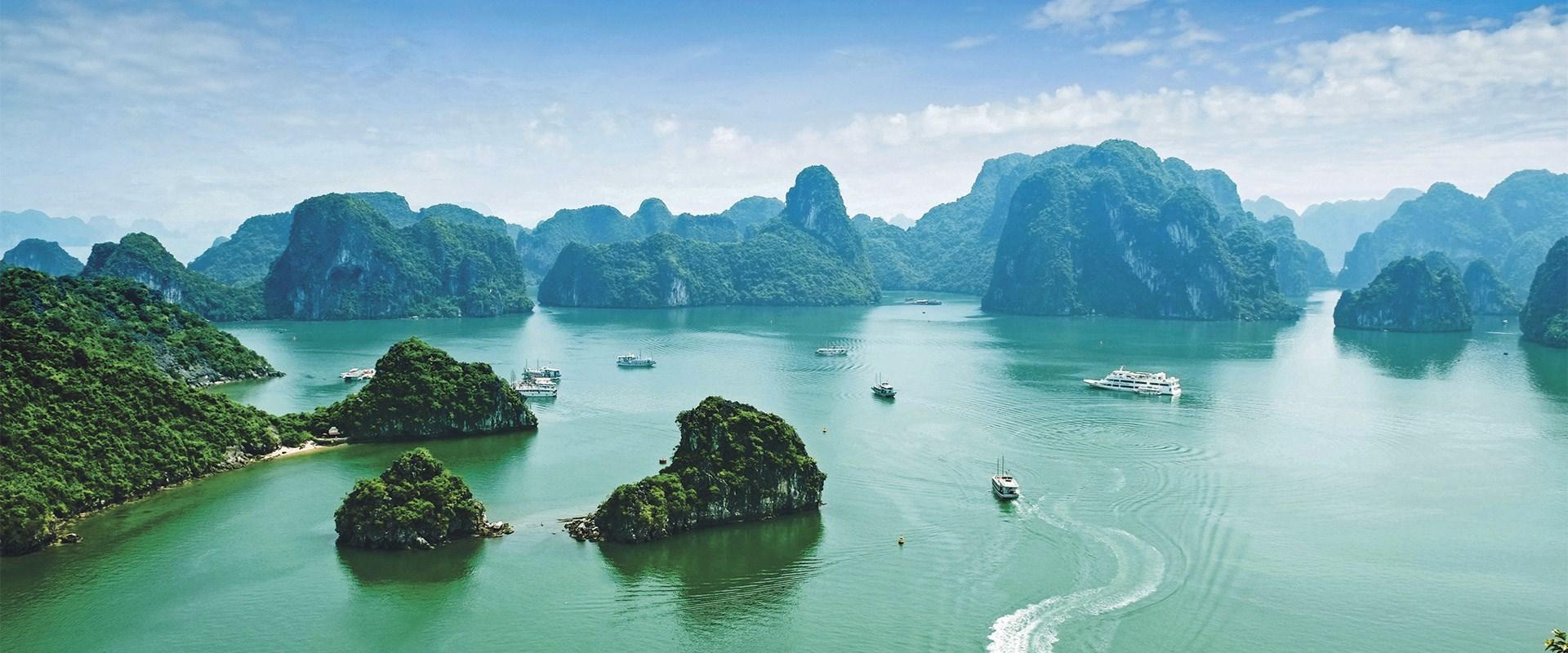 Mekong River Scenery Banner