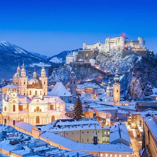 Magical Christmas Markets Ama Waterways Austria Salzburg Winter Snow